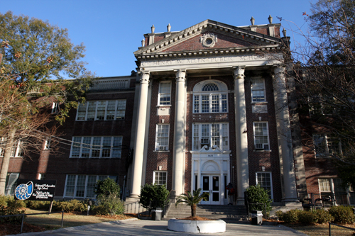 The Allen School building on Loyola Avenue, currently used by Sci High. (UptownMessenger.com file photo)