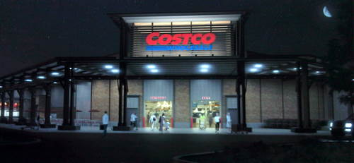 A Rendering Of Costco Wholesale