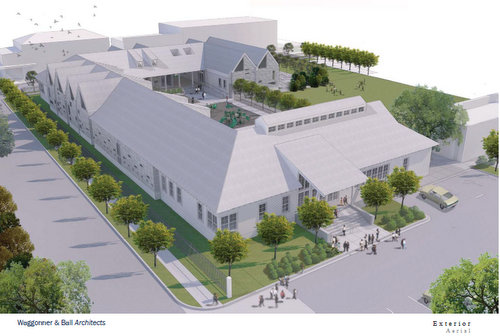 A Rendering Of The Isidore Newman Schools Proposed New Preschool Building Courtesy School