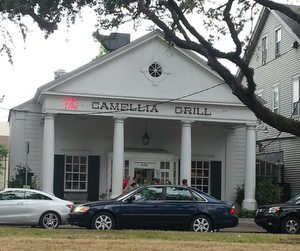 The Camellia Grill on South Carrollton. (Robert Morris, UptownMessenger.com)