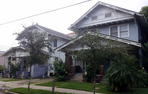 Lusher has bought two homes on the corner of its Willow Street campus. (Robert Morris, UptownMessenger.com)