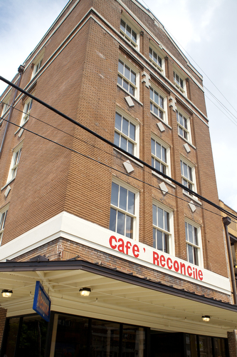 Cafe Reconcile is open for lunch M-F from 11 am to 2:30 pm at 1631 Oretha Castle Haley Blvd. (Sabree Hill, UptownMessenger.com)