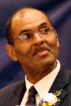 Danatus King Sr., photographed at the NAACP Freedom Fund banquet in 2012. (UptownMessenger.com file photo)