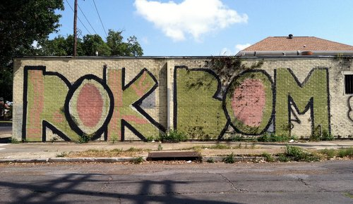 "Long gone from Louisiana Avenue at LaSalle, but never forgotten: ""Rok Bom."" (photo by Jean-Paul Villere for UptownMessenger.com)"