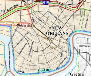 (map via DOTD)