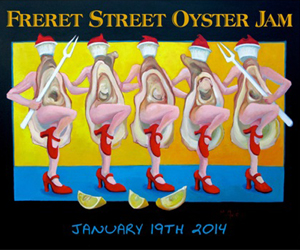Freret Oyster Jam UM