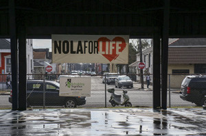 NOLA for Life in A.L. Davis park. (photo by Zach Brien for UptownMessenger.com)
