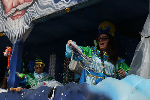 Krewe of King Arthur 2014. (Zach Brien, UptownMessenger.com)