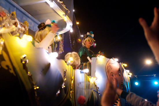 The Krewe of Muses. (Sabree Hill, UptownMessenger.com)