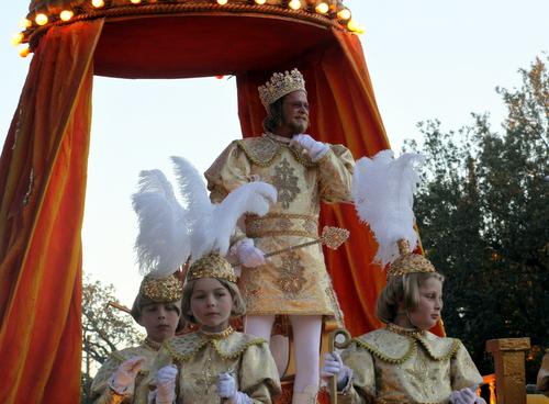 The Knights of Babylon's King Sargon. (Robert Morris, UptownMessenger.com)