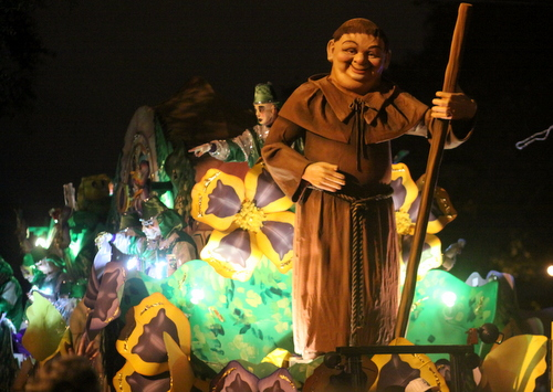 "The Hermes ""1984: Return to Sherwood Forest"" float. (Robert Morris, UptownMessenger.com)"