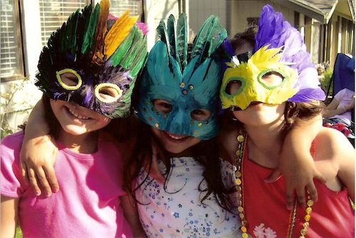(via The Junior Committee's Annual  Mardi Gras Fêtes press release)