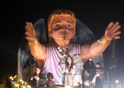 The Morpheus king and queen. (Robert Morris, UptownMessenger.com)