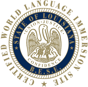 The Board of Elementary and Secondary Education seal of excellence (via International School of Louisiana)