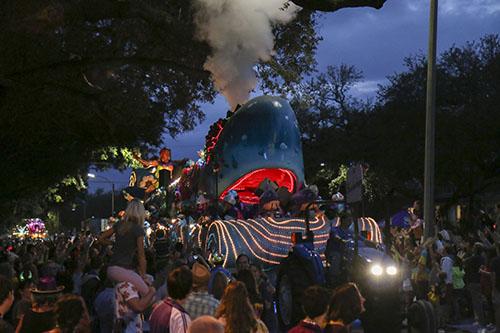 The Bacchawoppe float, Bacchus 2014. (Zach Brien, UptownMessenger.com)