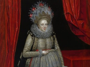 Paul van Somer, Elizabeth, Viscountess Falkland  (via newcombartgallery.tulane.edu)