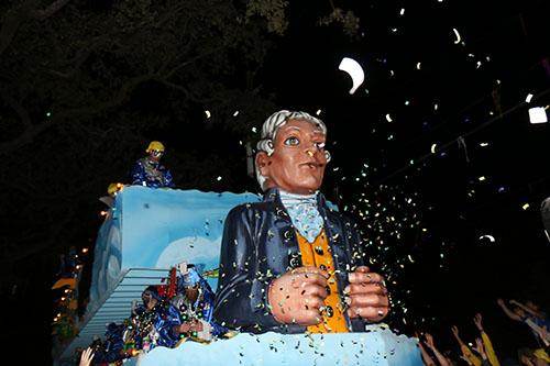Morpheus pays tribute Jefferson Ave. with a giant Thomas Jefferson.