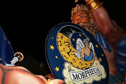 Morpheus' lead float.