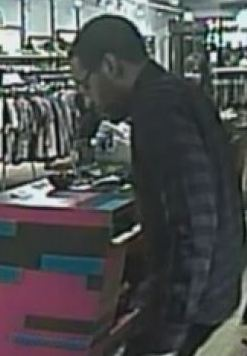 An image of a robbery suspect from the Denver Police Department. (via NOPD)