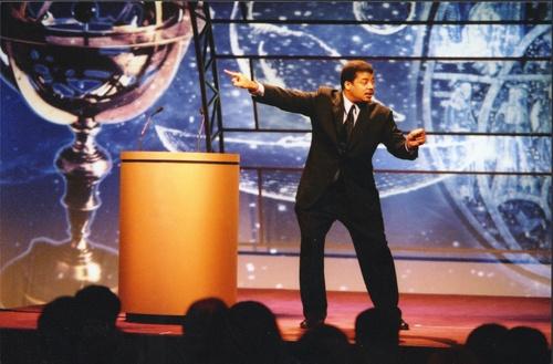 Neil deGrasse Tyson (via haydenplanetarium.org)
