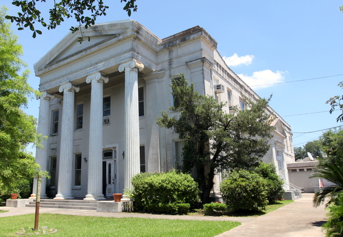 The former Carrollton court house, photographed in June 2014. (UptownMessenger.com file photo by Robert Morris)
