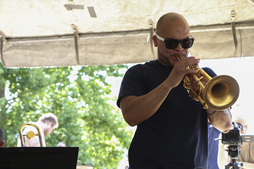 Irvin Mayfield, the leader of the New Orleans Jazz Orchestra.