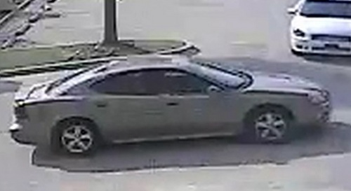 A still image of the suspect's vehicle. (via NOPD)