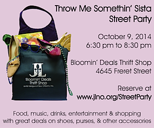 Bloomin' Deals Throw Me Something Sister Uptown Messenger Ad