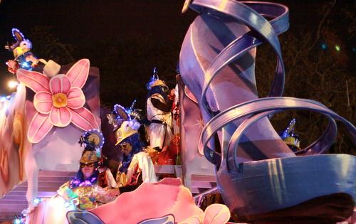 "Nyx had a feminine interpretation of ""Blue Suede Shoes."" (Robert Morris, UptownMessenger.com)"
