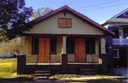 A photo of 3008 Lowerline Street included in city documents. (via nola.gov.)