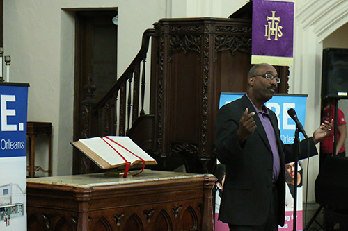 Dr. Kevin Stephens discusses specifically the good a Planned Parenthood center can do when it comes to planning having a child. Dr. Stephens is the Senior National Medical Director, Optum Health Care and Executive Minister of the Christian Unity Baptist Church. (Zach Brien, UptownMessenger.com)