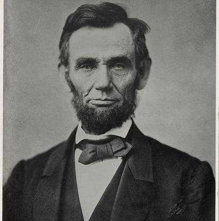 Official photograph of Abraham LIncoln, taken Nov. 8, 1963. (source: Library of Congress)