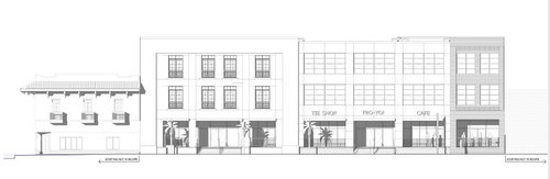 Another rendering of the Freret block face. (via nola.gov)