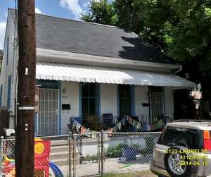 The house at 2123-25 Laurel Street (via city of New Orleans)