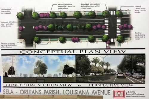 The plan for Louisiana Avenue.