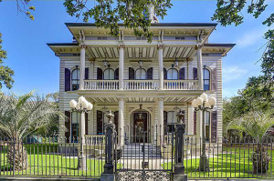 The contents of this home at 3711 St. Charles Avenue in New Orleans – the former residence of world-famous author Anne Rice – will be part of the auction.