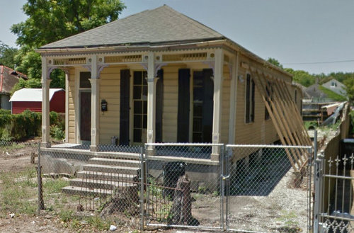 The house at 918 Soniat was approved for demolition Monday. (April 2015 photo via Google)