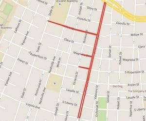 (map by UptownMessenger.com via Google Maps)