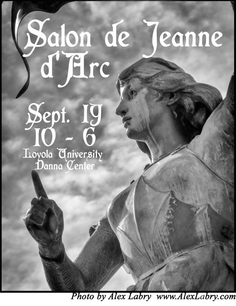 Loyola to host sixth annual salon de jeanne d arc uptown for A janet lynne salon