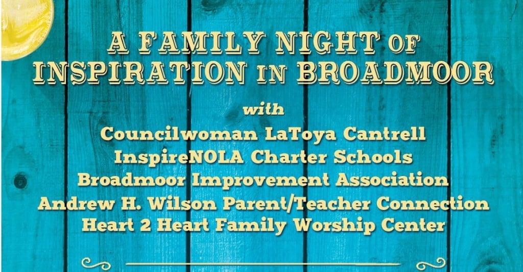 Wilson Charter School family night