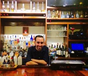 Del Fuego bartender Tyler (Kristine Froeba)