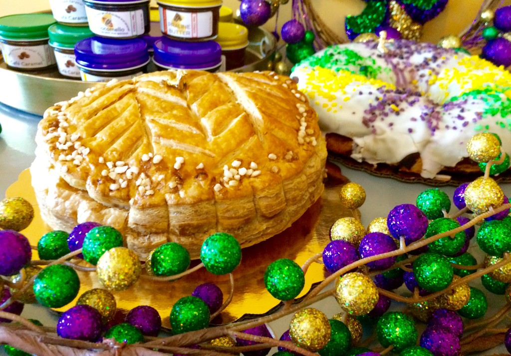 Gracious Bakery's Galettes des Rois and Filled King Cake (Kristine Froeba)