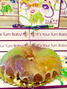 Sucre' Ziggy Stardust Cream Cheese King Cake