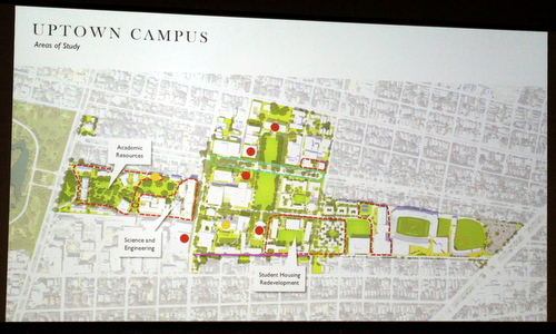 Tulane Gives Neighbors First Look At New City Mandated Master Plan