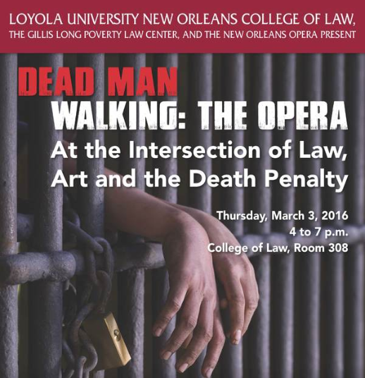 Dead Man Walking: The Opera symposium