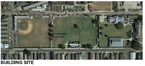 Cuccia-Byrnes site plan (via City of New Orleans)