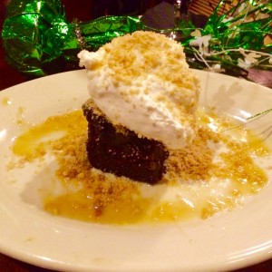 Irish House's Sticky Toffee Pudding and Cream