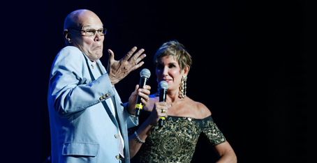 James Carville and Mary Matalin (via Loyola University)