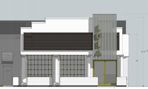 A rendering by Studio WTA of the new Lula Restaurant Distillery on St. Charles Avenue. (via city of New Orleans)