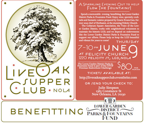 live oak supper club